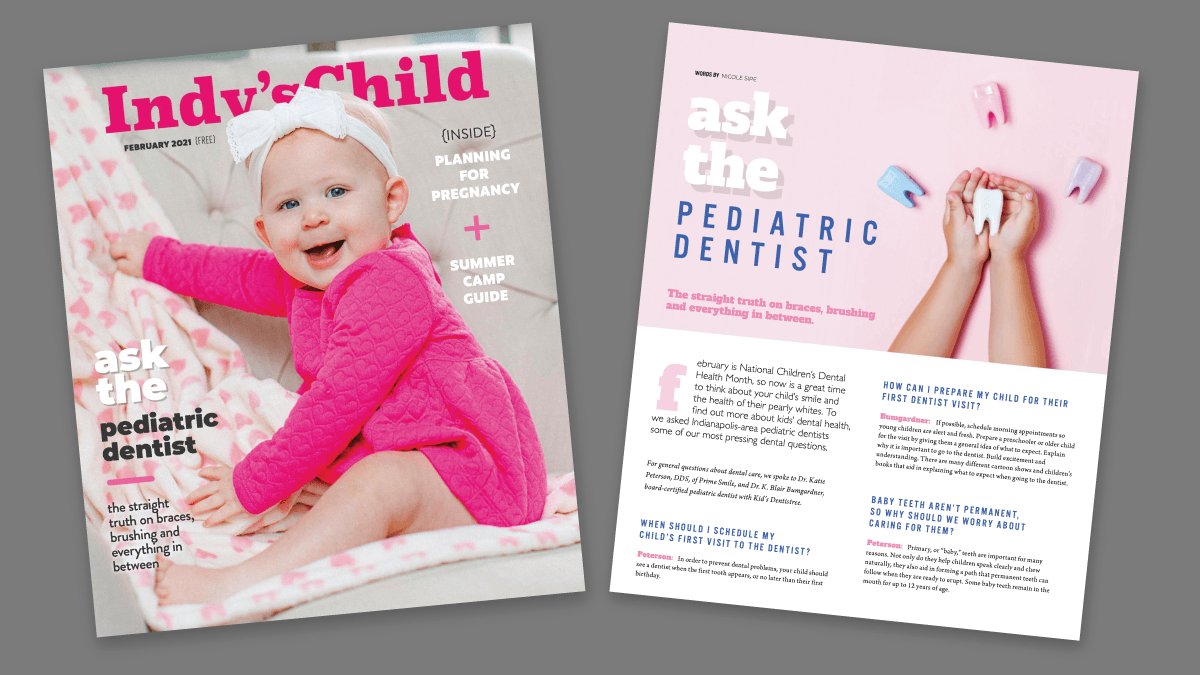 Dr. Katie Featured In Indy's Child Magazine