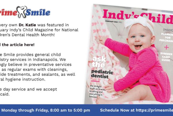 Indy's Child - Pregúntele al dentista pediátrico