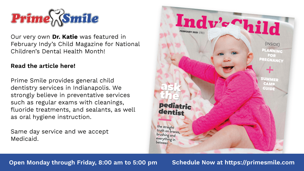 La Dra. Katie apareció en la revista Indy's Child
